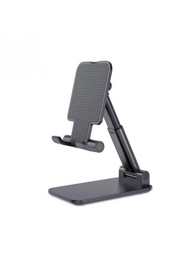 Hobimtek HT-107 Metal Gövde Masa Üstü Telefon ve Tablet Standı Tutucu  Renksiz